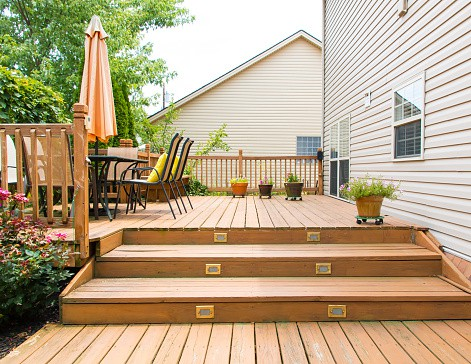 Perfect cookout deck Appleton